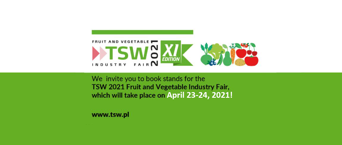 We invite you to the 11th edition of the TSW 2021 Fair!